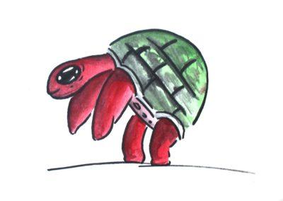 Monstre tortue