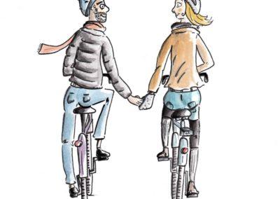 Lili à vélo